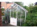 Demolish and remove glass greenhouse