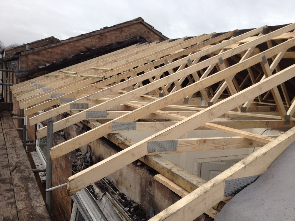 Nicholas ryan projects ltd 100 feedback restoration for Pre made roof trusses