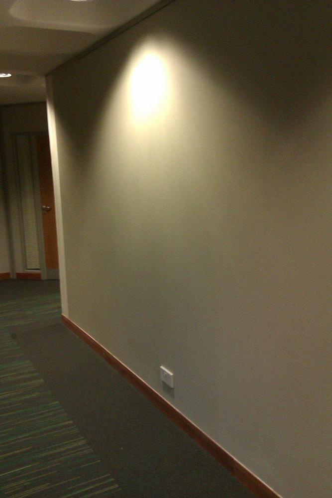 wallpapering mirrored doors