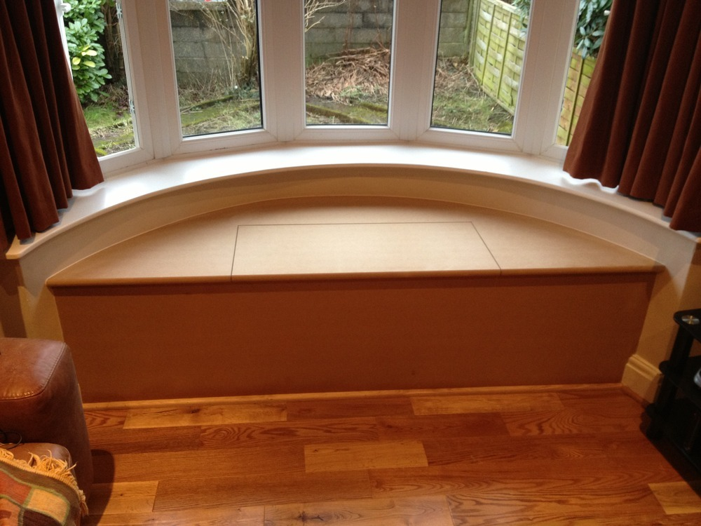 Ibi ltd 100 feedback flooring fitter carpenter for Curved bay window