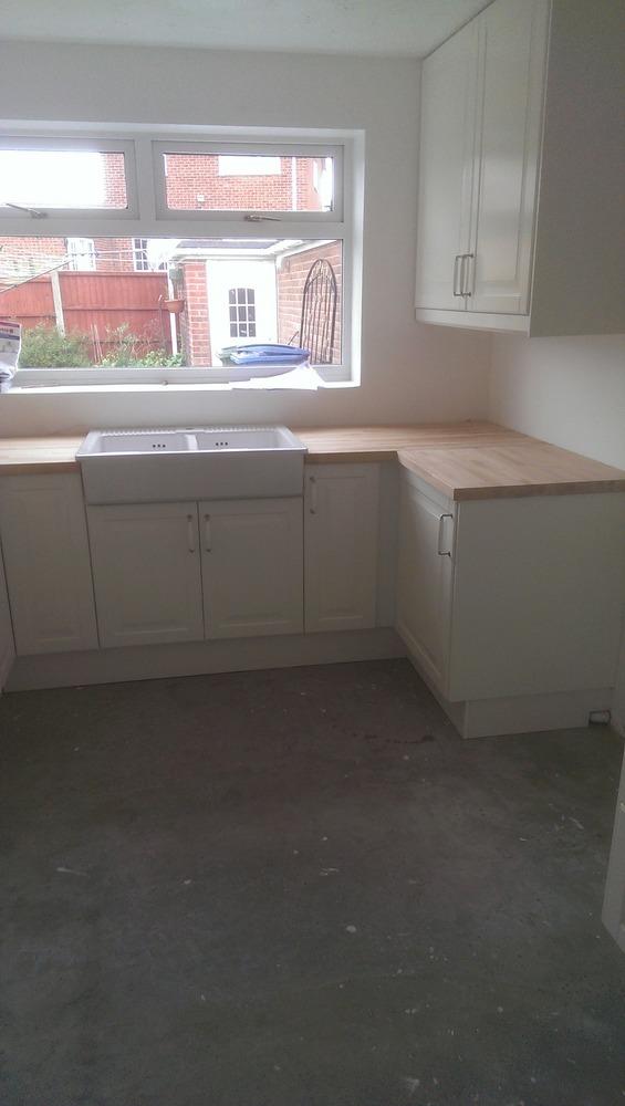 100 feedback kitchen fitter carpenter joiner tiler in nottingham
