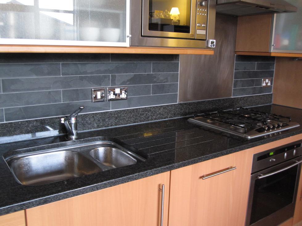 Slate Floor Kitchen Image