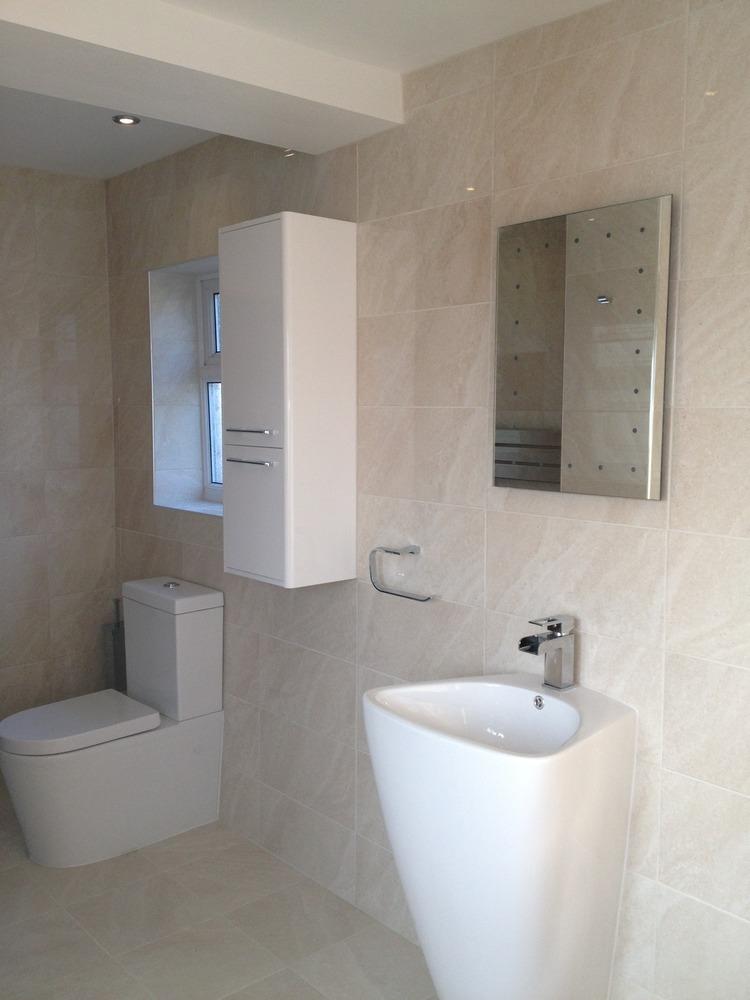 Amber kitchens bathrooms 100 feedback bathroom fitter for New bathroom installation