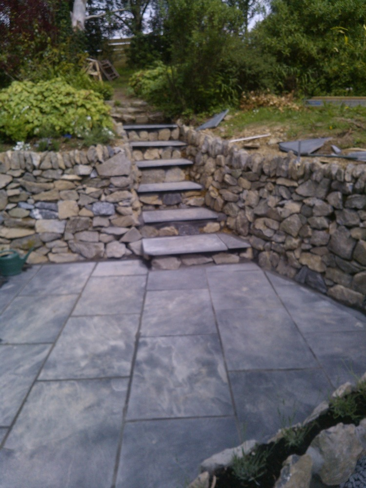 Anthony woollett 100 feedback landscape gardener for Landscaping rocks new plymouth