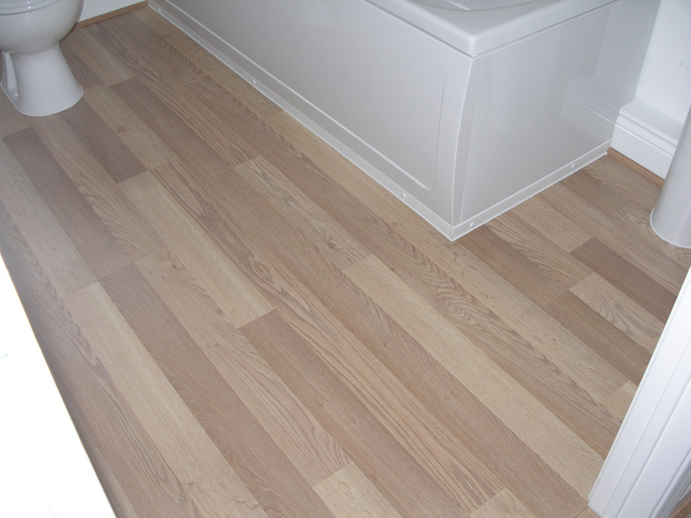 Laminate flooring fit laminate flooring bathroom for Bathroom laminate flooring