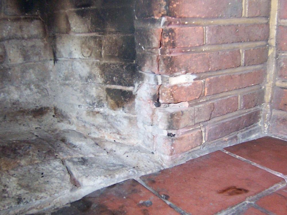 Refurbish Brick Chimney : Repair of s brick fireplace chimneys fireplaces