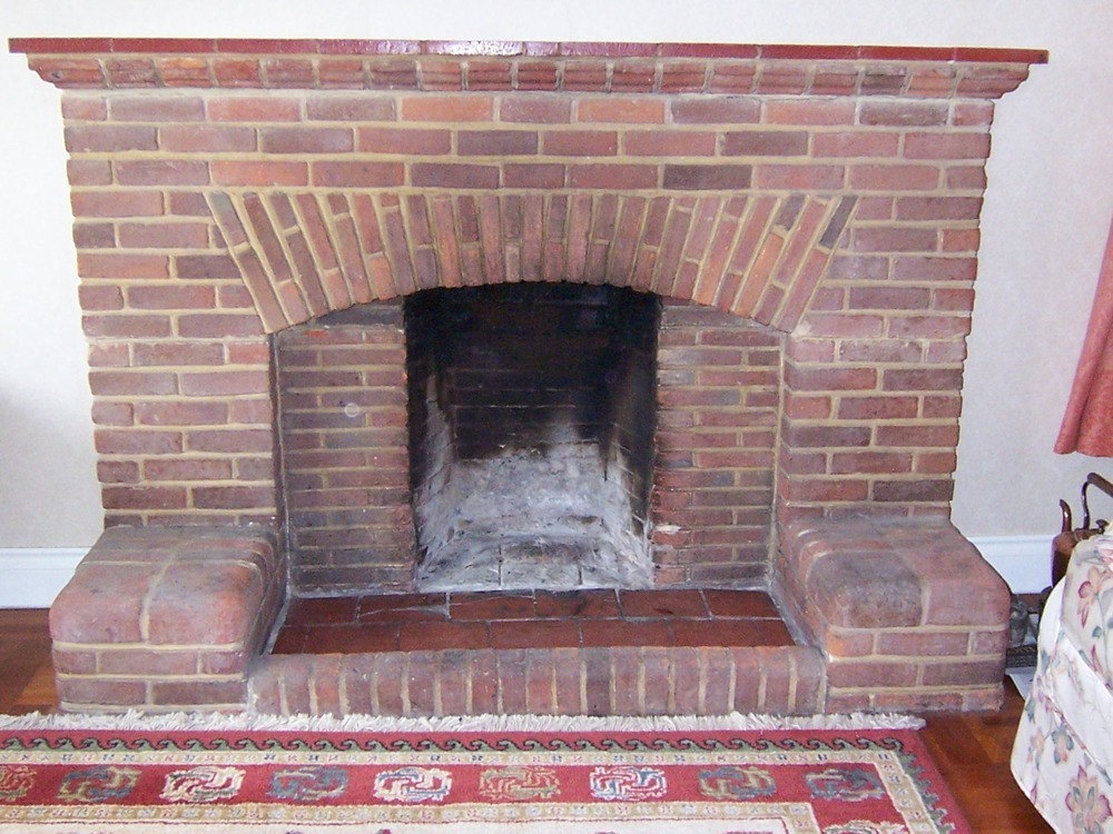 Repair Of 1950s Brick Fireplace Chimneys Fireplaces