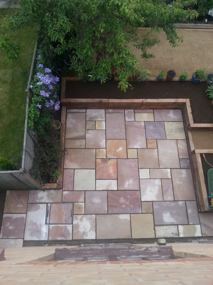 veranda and patio layout united kingdom