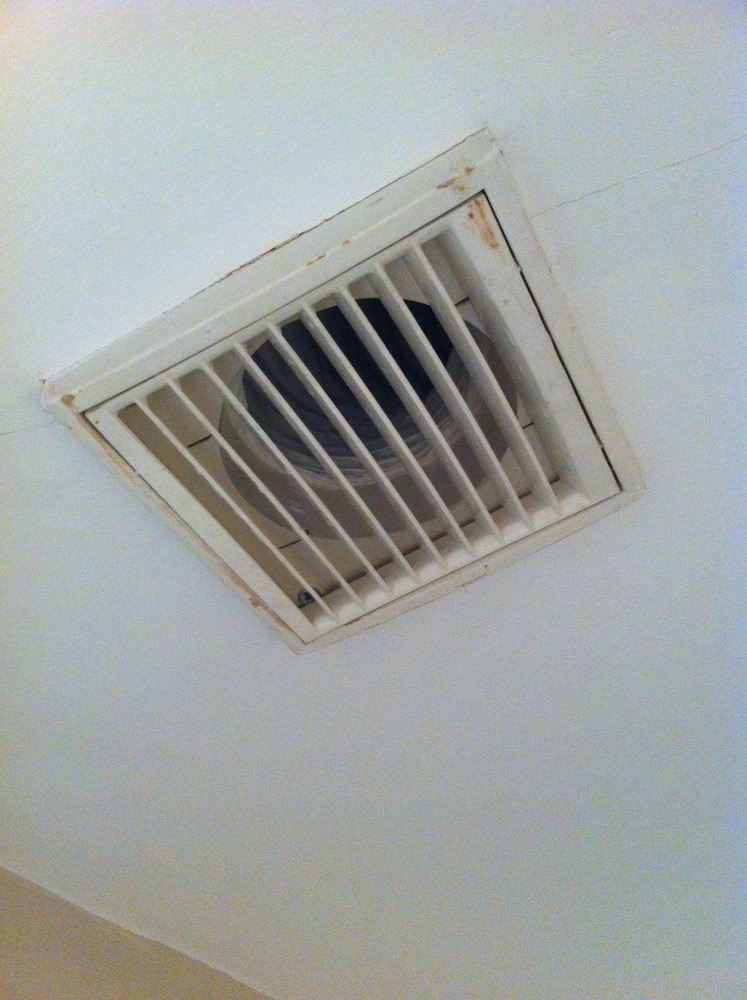 replace bathroom extractor fan ceiling electrical job in norbury