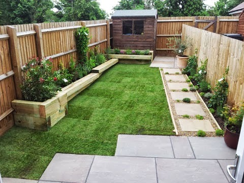 Mulberry cottage gardens 100 feedback landscape gardener fencer in broxbourne - Landscaping for small spaces gallery ...