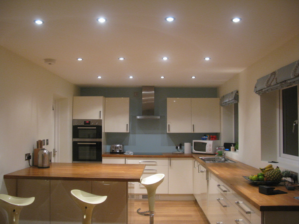 Dave betts electrical services 100 feedback electrician for Kitchen spotlights amazon