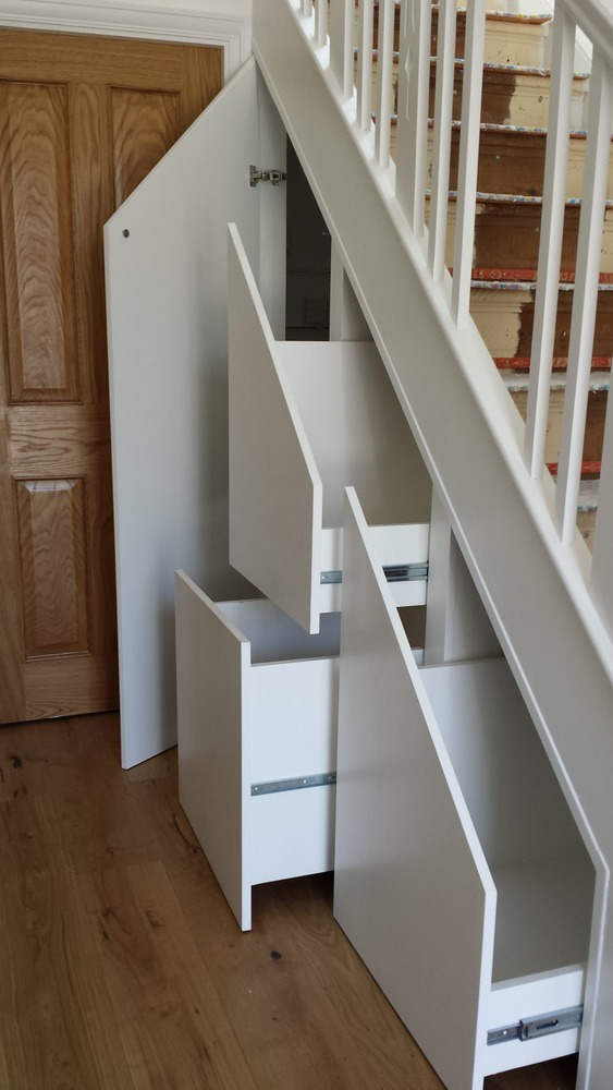 South developments ltd 100 feedback carpenter joiner kitchen fitter new home builder in - Staircases with integrated bookshelves ...