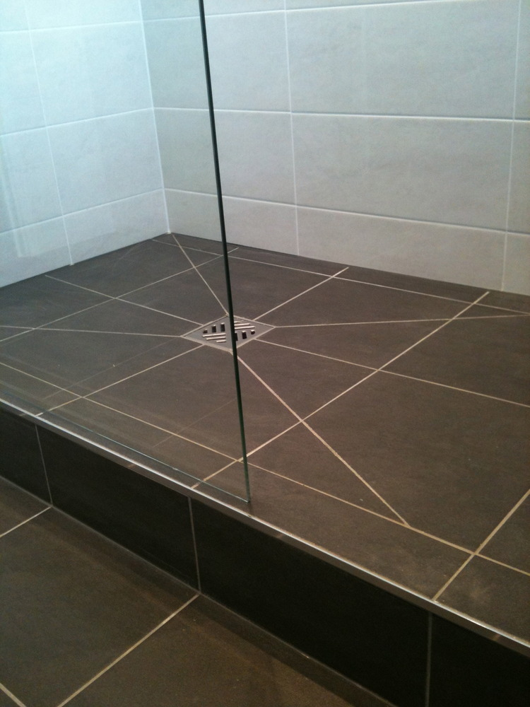Tiled Shower Tray Bathroom Tiles From Floor To Shower   Wood Floors