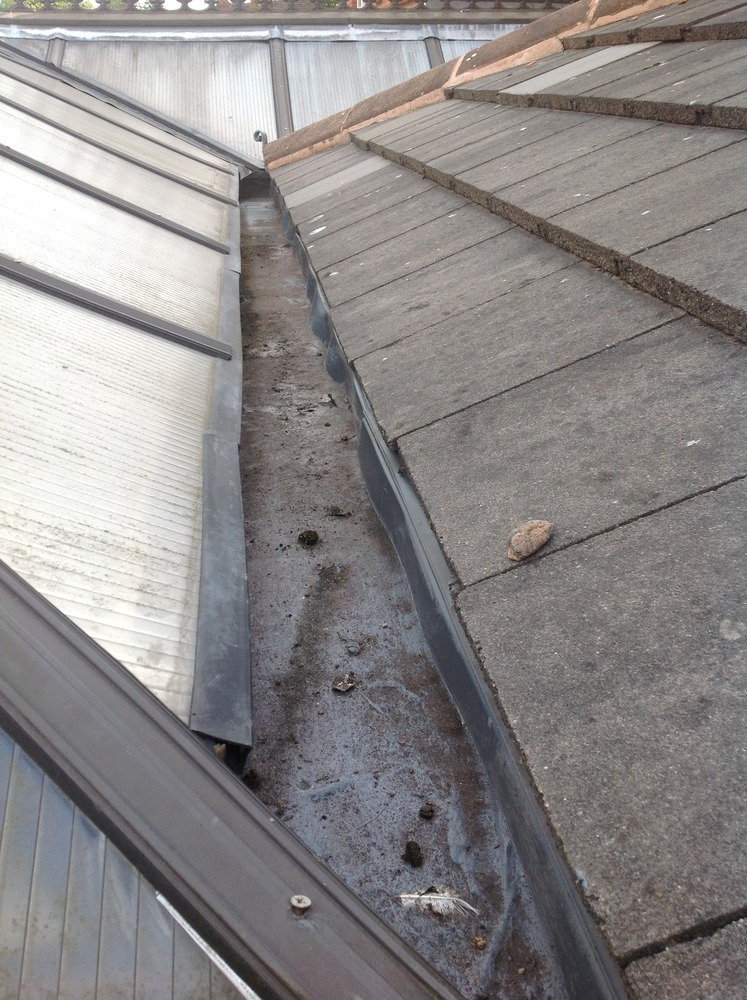 how to make a box gutter