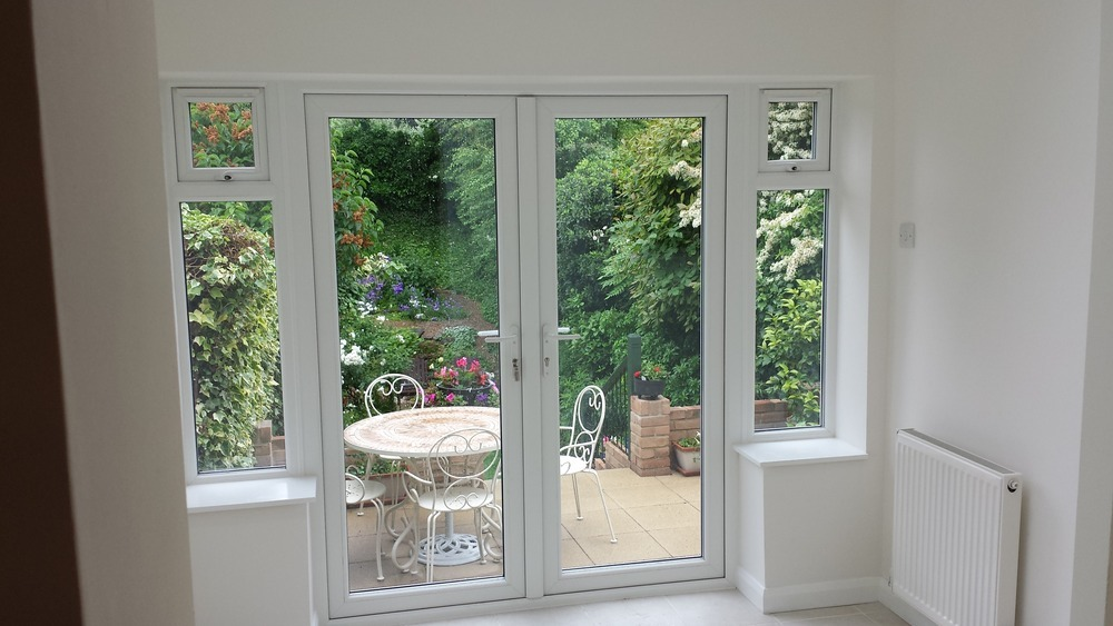 Cg design build 100 feedback electrician plumber for Looking for french doors