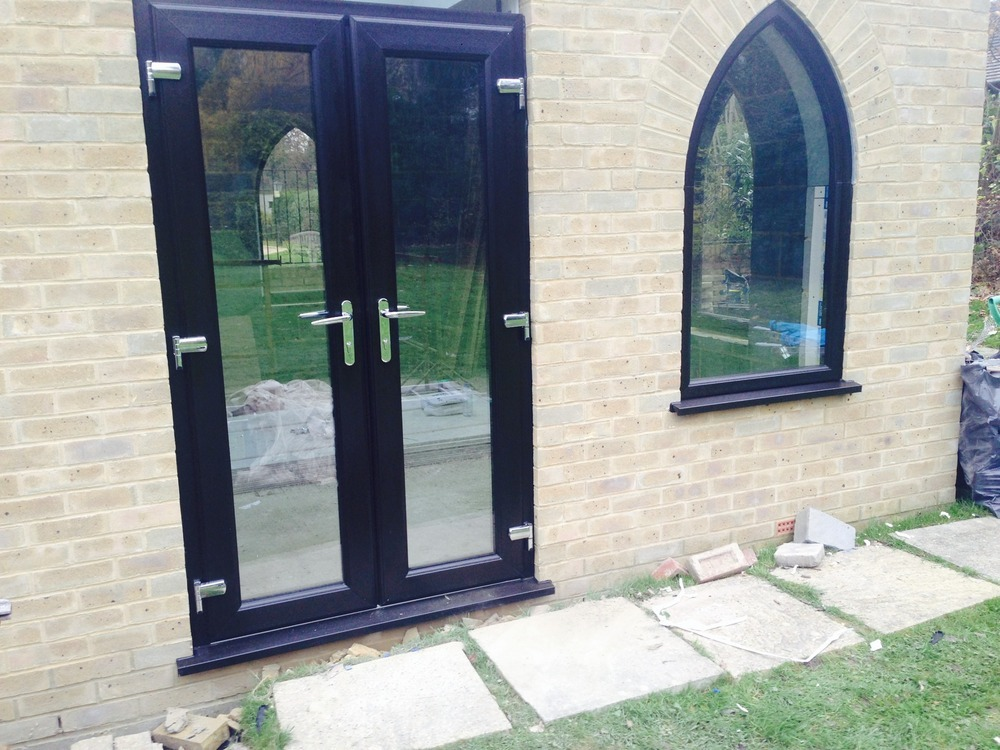 Rightway windows 100 feedback window fitter for Upvc french doors black