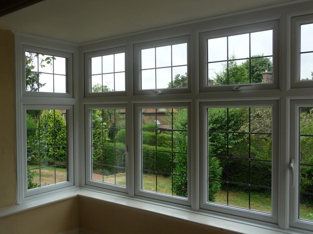 Knowles stained glassworks ltd 100 feedback window for Double glazed window designs