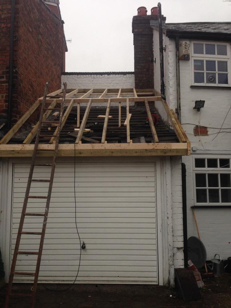 Fcs 99 feedback roofer plasterer restoration refurb for How to build a mezzanine floor in a garage