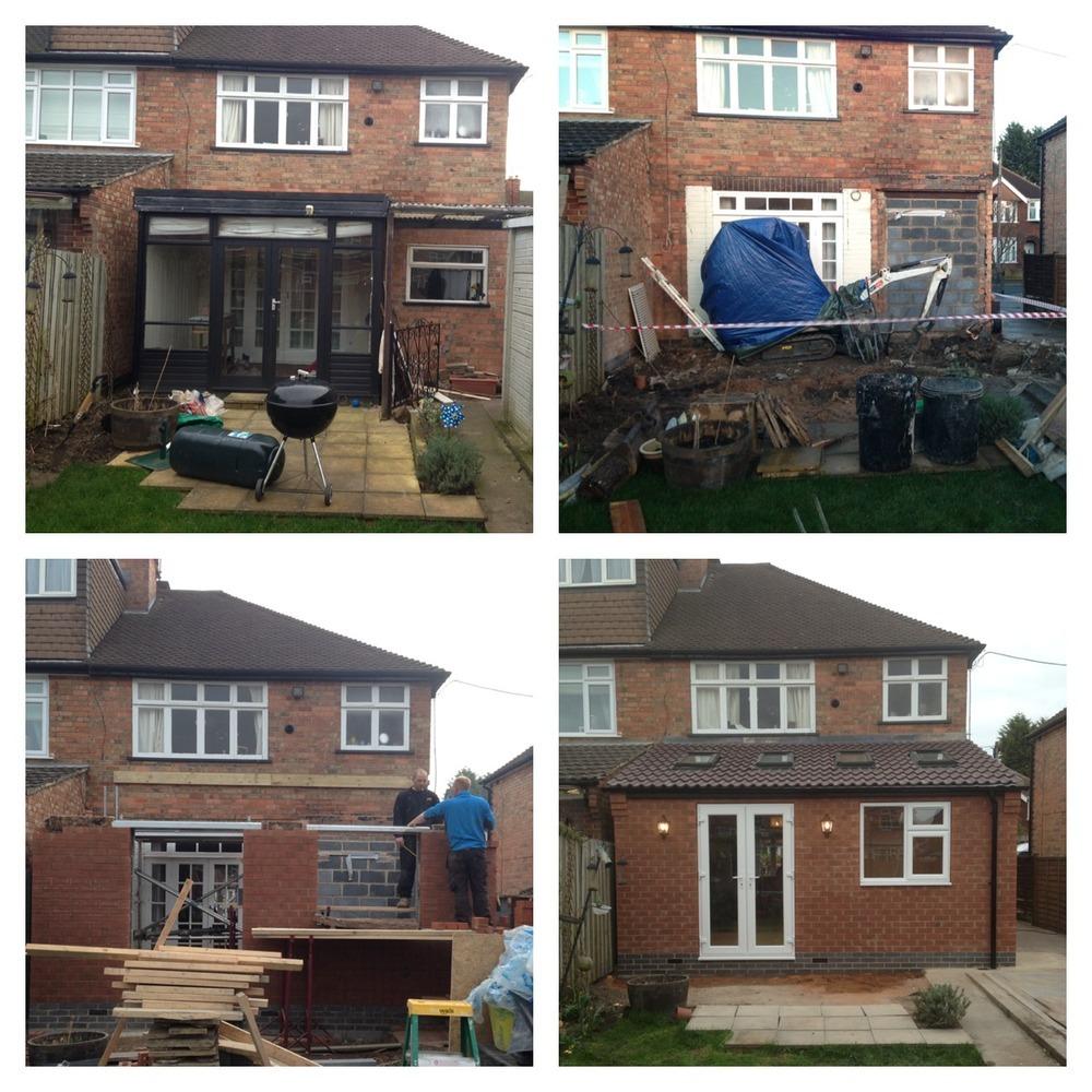 extension builder kitchen fitter carpenter joiner in nottingham