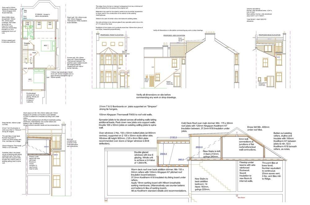 L Shaped Dormer Loft Conversion Extensions Job In West