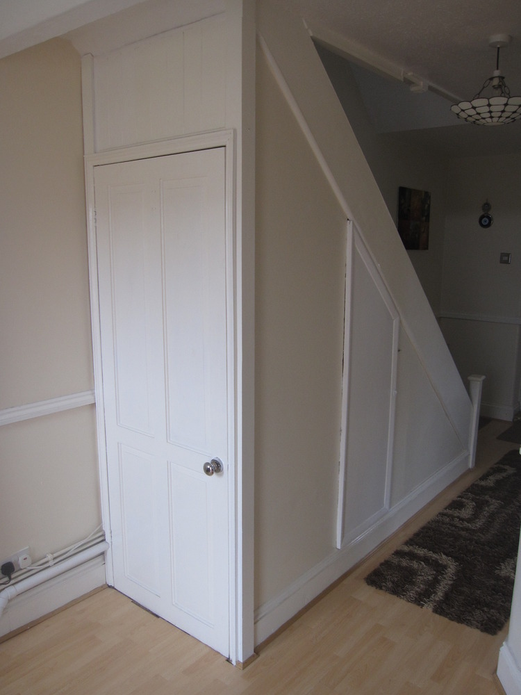 Under stairs cupboard + kitchen cupboard - Carpentry ...