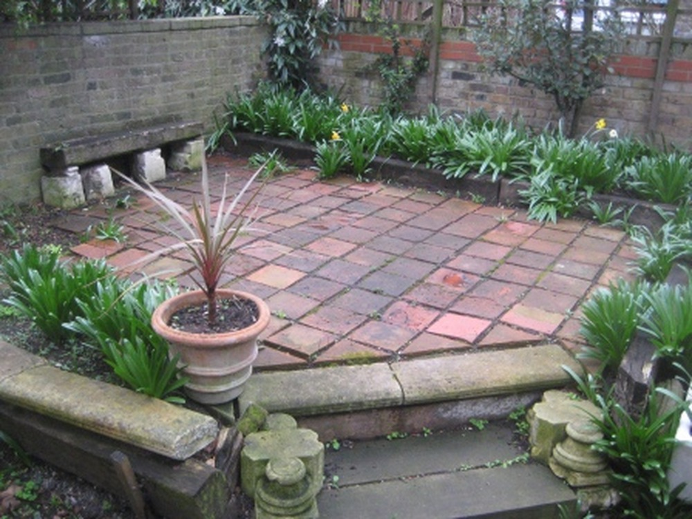 Paving And Landscaping Small Rear Garden Landscape