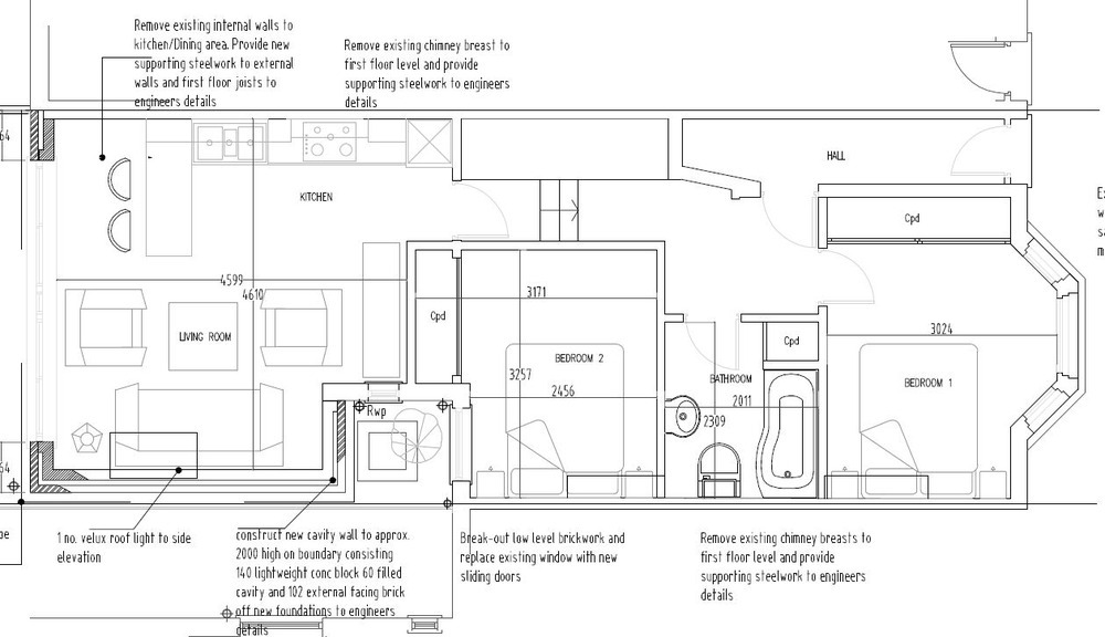 single storey side return extension - Extensions job in ...