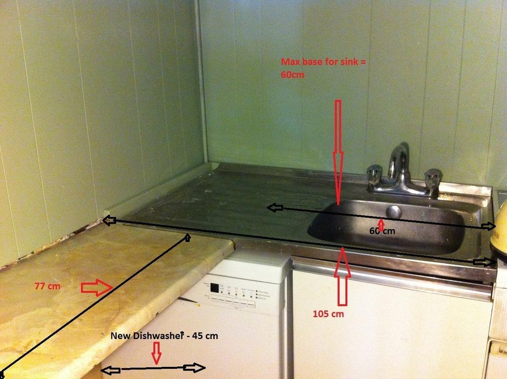 Small Kitchen Sink Unit : Small kitchen - undermount sink, unit & countertop - Kitchen Fitting ...