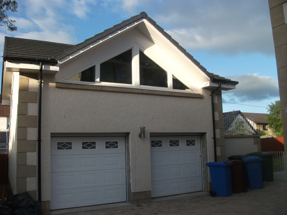 Glenavon joinery construction services ltd 100 for Double garage with loft
