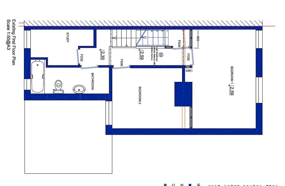Loft conversion bedroom and ensuite shower loft for Bedroom ensuite plans