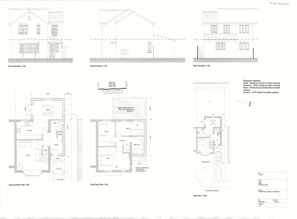 Extensions to semi detached property extensions job in for Floor plans for a semi detached house extension