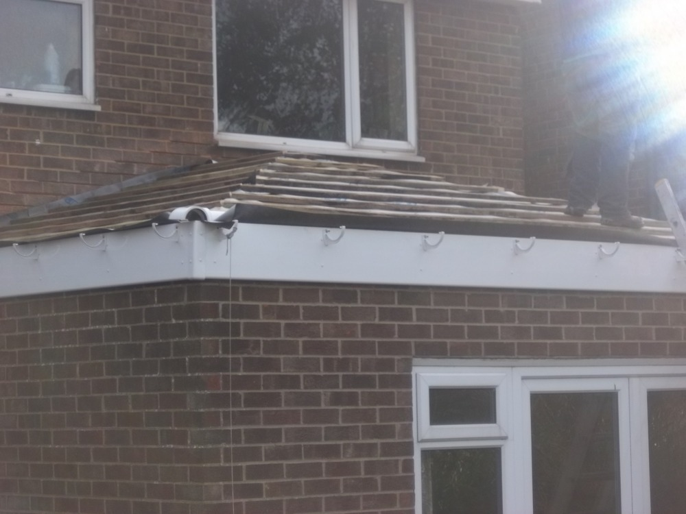 Flat Roof Flat Roof To Pitched Roof Conversion