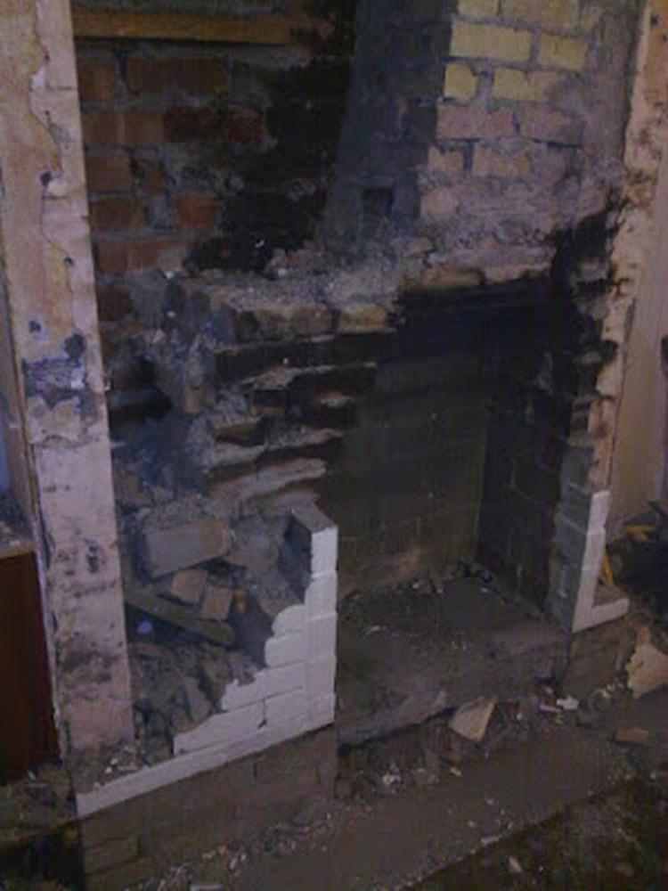 Rebuild Chimney Breast Chimneys Amp Fireplaces Job In