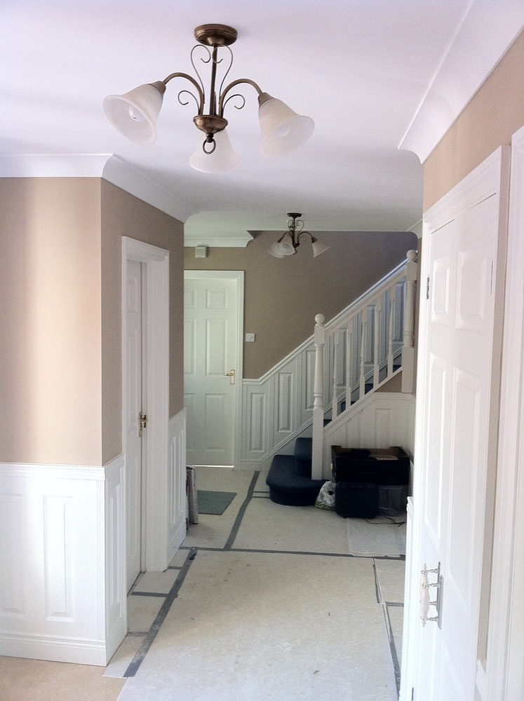 Exciting Hallway Decorating Ideas Wallpaper Images - Best idea .