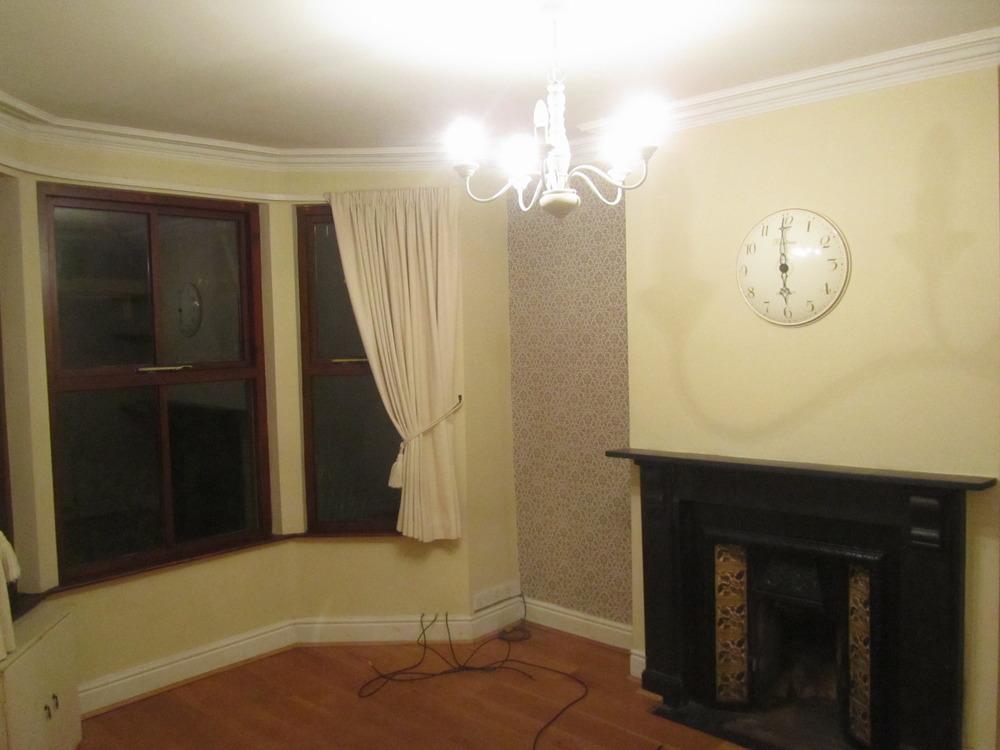 Repaint living room bedroom painting decorating job for Room decor job