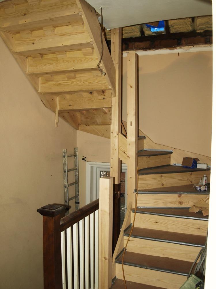 Nudor woodcraft 100 feedback extension builder loft for Loft stairs plans