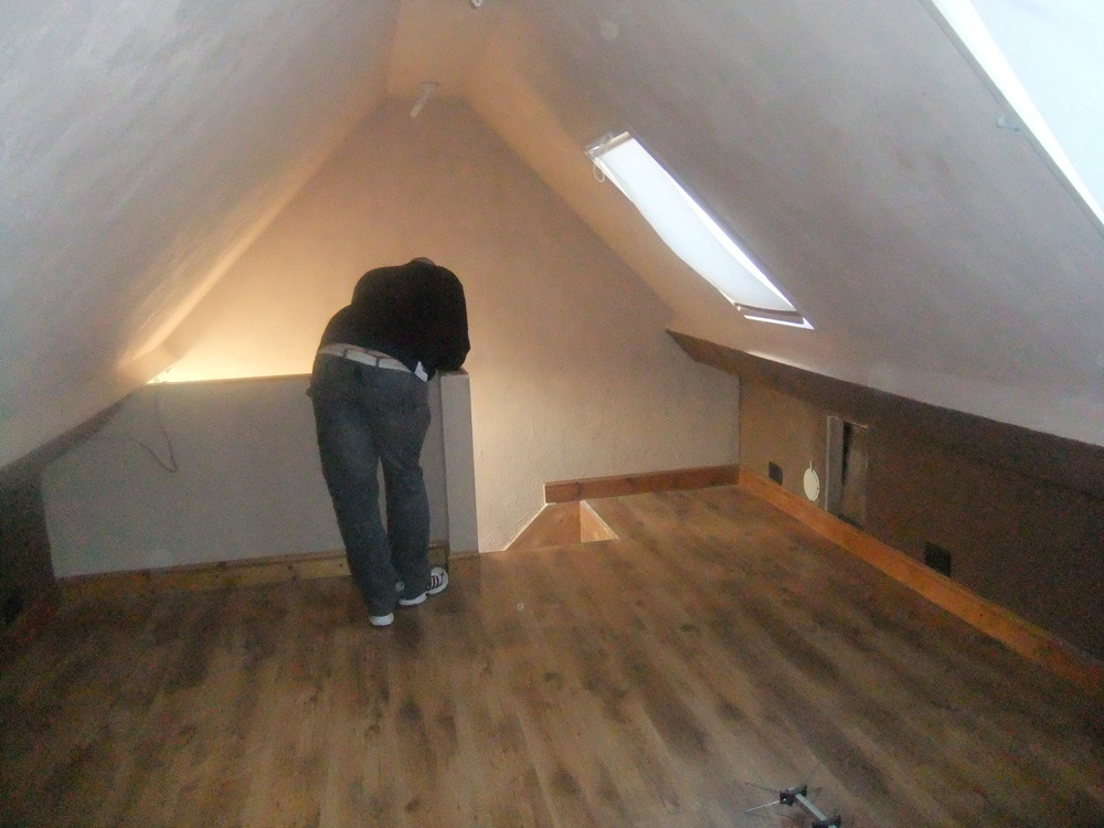 Cellotex In Loft Conversion amp Stud Wall Conversions