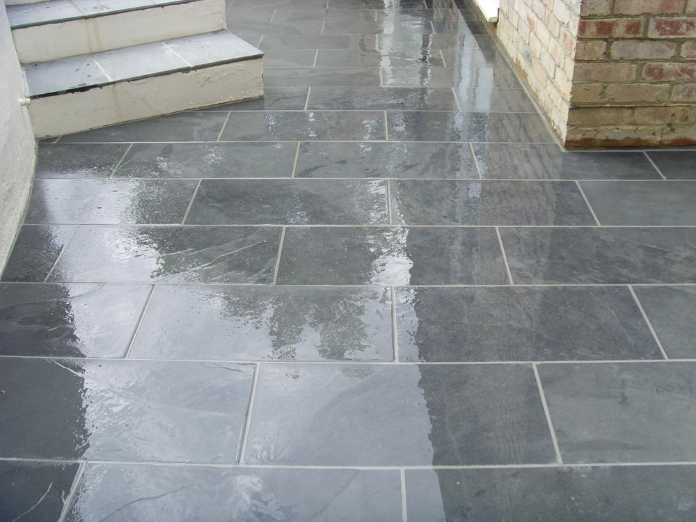 Stone Tiles For Backyard : The Stone Tile Emporium ltd Tiler, Flooring Fitter, Stonemason in