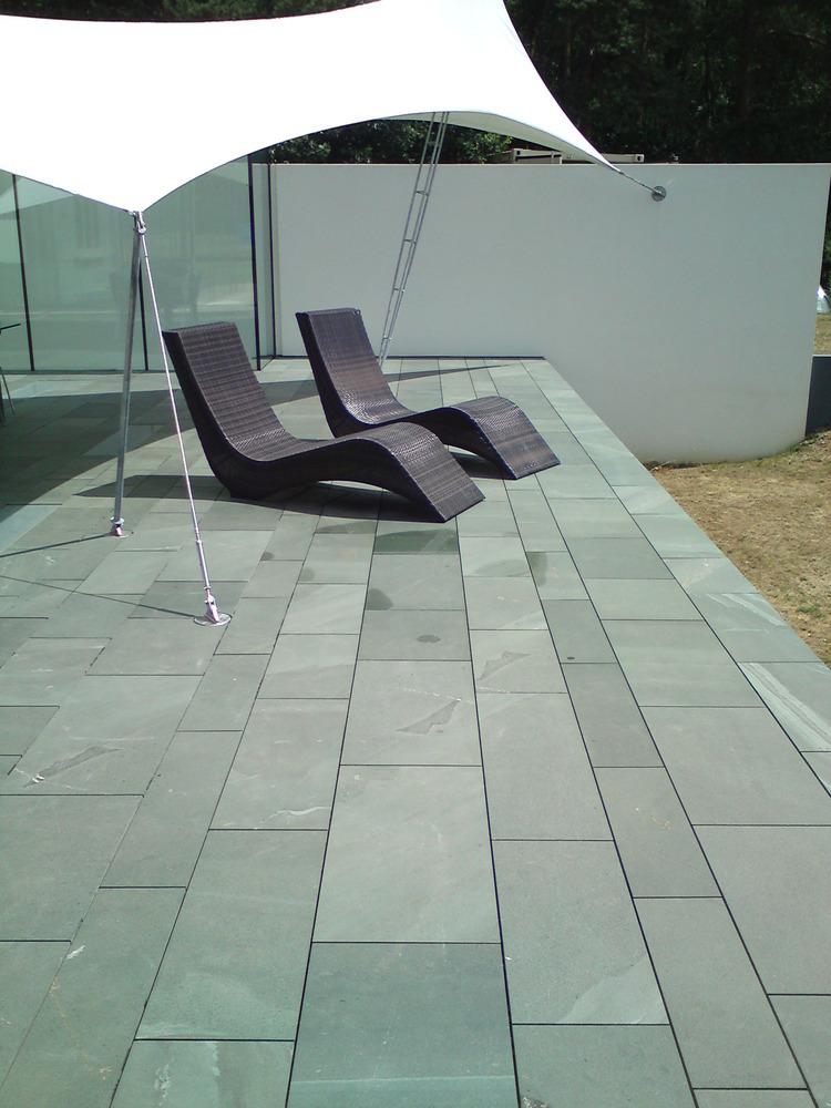 The stone tile emporium ltd tiler flooring fitter for Roof terrace flooring