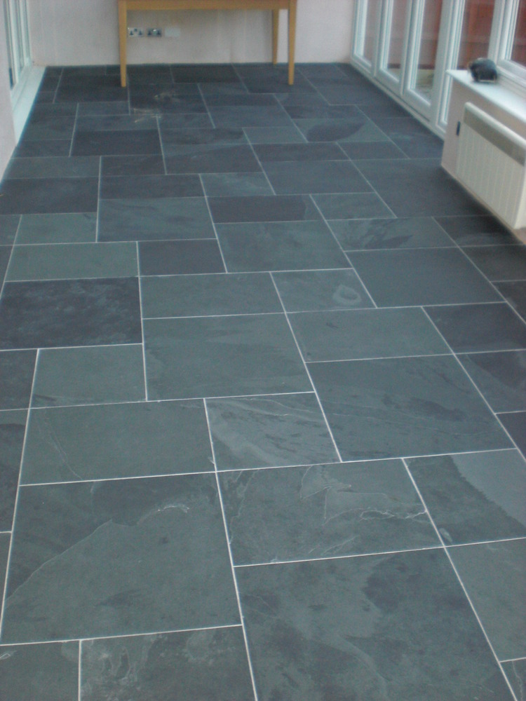 Slate floor tile patterns Slate tile flooring