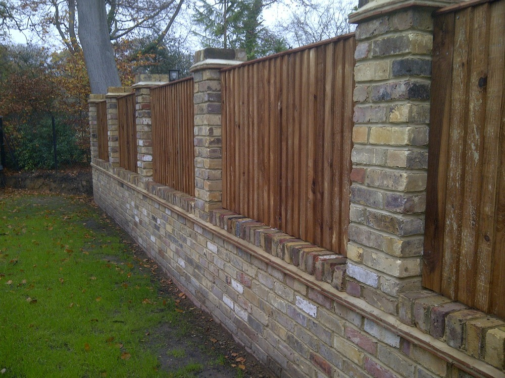 house brick fence designs 2