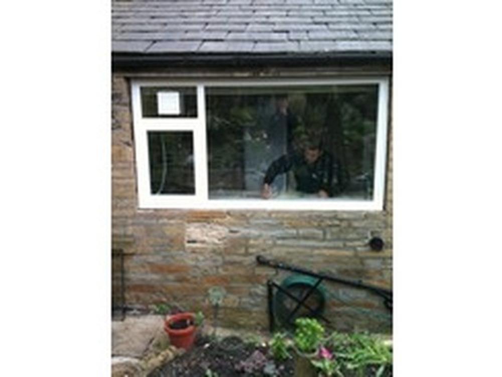 Charming Kitchen Extractor Fan Window Mounted Birkenshaw Windows 100 Feedback Window  Fitter