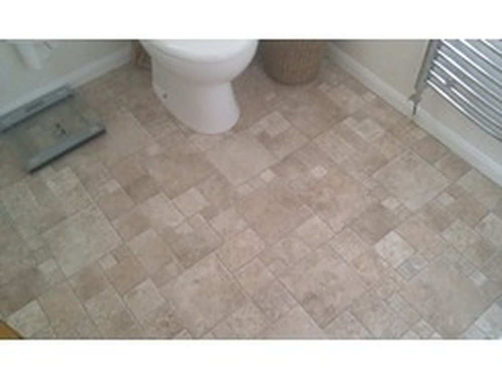 The handyman can 100 feedback handyman bathroom fitter for Lino flooring