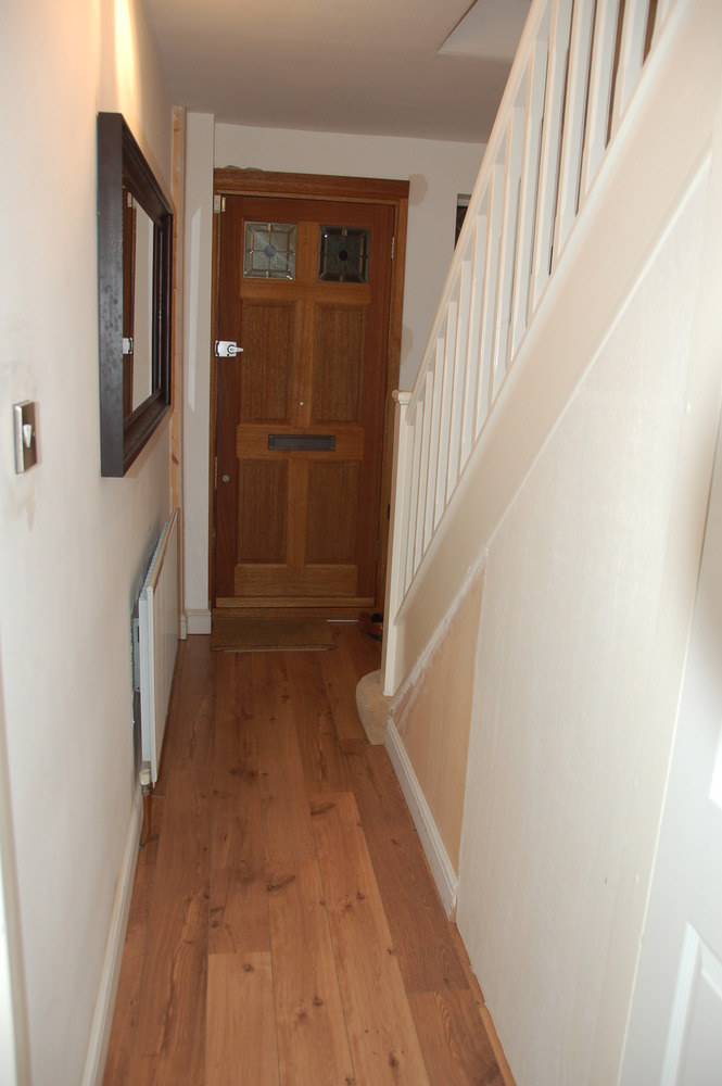 Paint Job Hall Stairs And Landing Painting Decorating