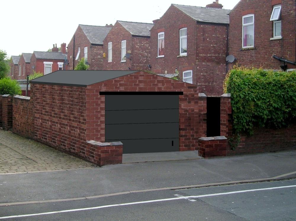 15 best brick garages designs architecture plans 14285 for Garage block