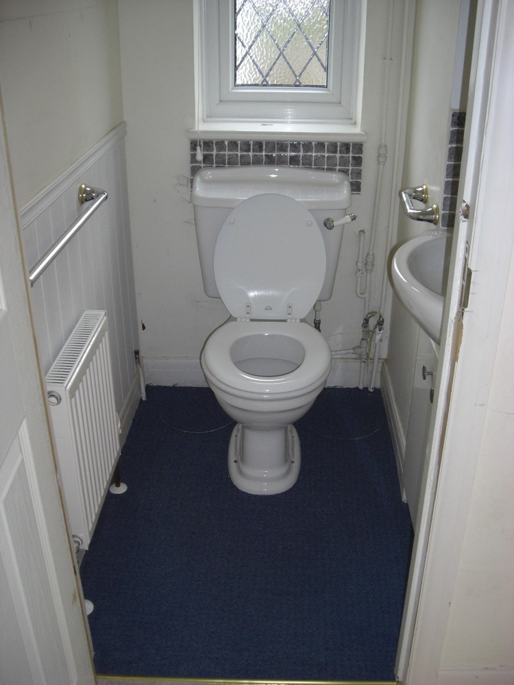 2 X Small Toilets To Be Tiled Tiling Job In Southampton