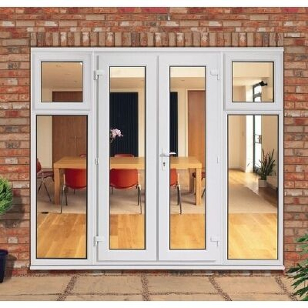 Home entrance door french patio doors for Patio doors with side windows