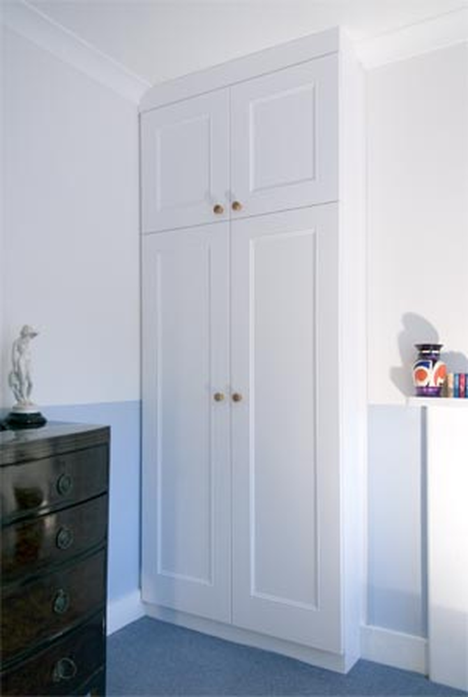 Alcove Wardrobes Carpentry Joinery Job In Cardiff South Glamorgan