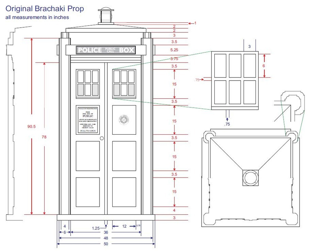 Tutor learn plans for building tardis for Blueprint builder free