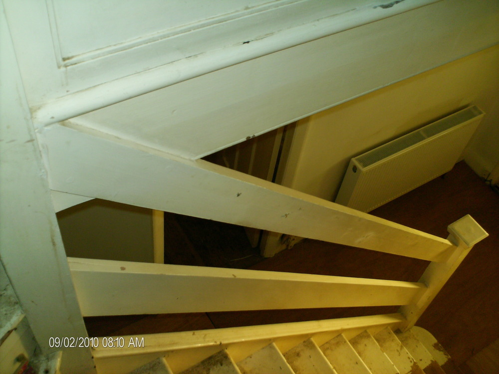 SUPPLY & FIT STAIR SPINDLE, HANDRAIL PLUS BALL - Carpentry ...